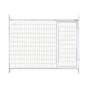 4mm temporary fencing gate